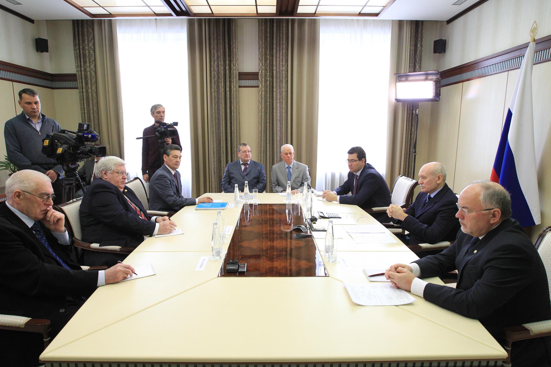 встреча с президентом1